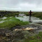 A tad bit wet underfoot