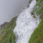 The water coming down Ingleborough